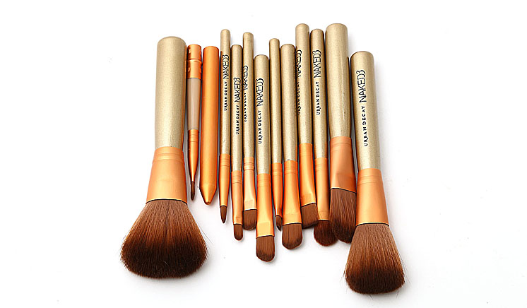 Pack of 12 Urban Decay Tin Brush Set