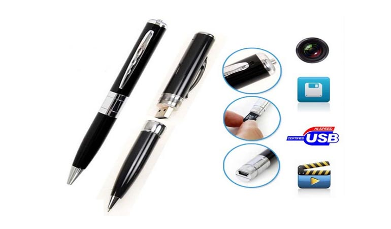 8Gb Spy Pen Camera With Hd Audio Video Recording