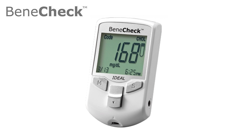 BeneCheck Multi-Monitoring Meter (3 in 1 Sug,Chol,Uric Acid Meter kit) - Multiple choices in one device