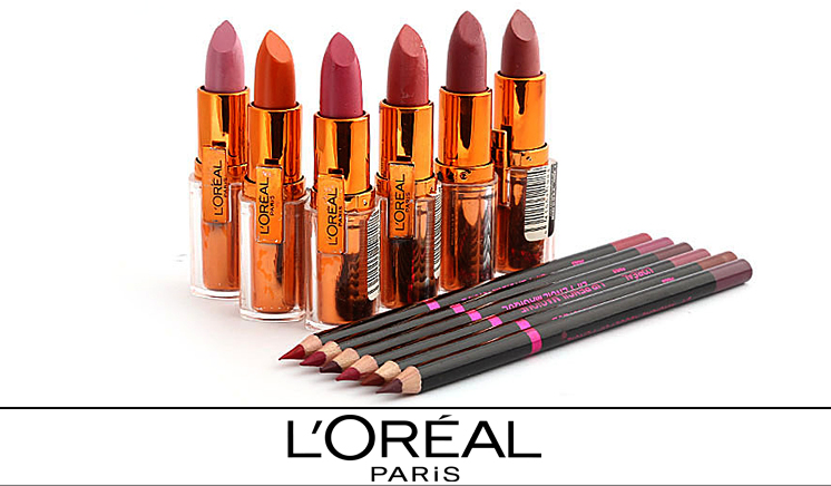 Pack of 12 Loreal Products: 6 Lip Pencils & 6 Lipsticks In Just Rs. 1099 Instead Of Rs. 2300 [52% Off] Exclusively By Dealhub.pk (Free Delivery**)