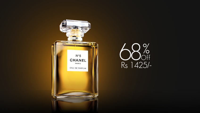 68% off, Rs 1425 only for Chanel N5 Perfume for Women (First Copy)