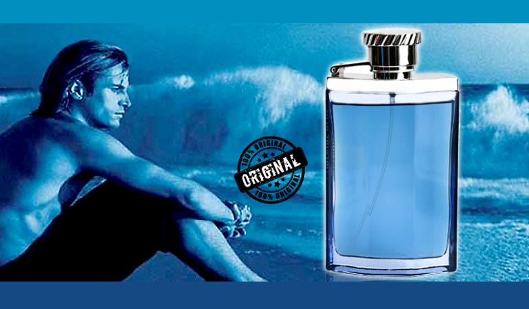 Dunhill Desire Blue Perfume  For Men (100% Original) - Free Delivery.