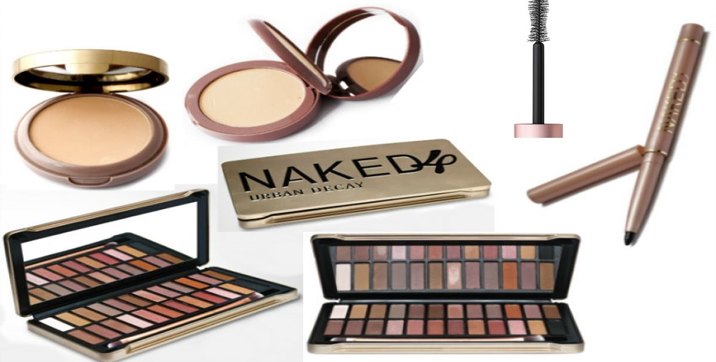 Pack of 3 Naked Products with 1 Naked 24 Shades Eye Shadow Palette