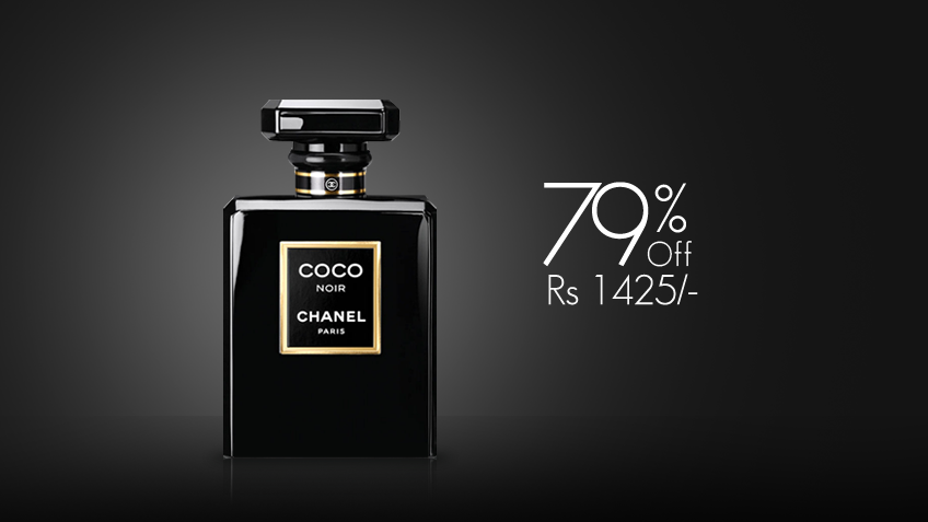 79% off, Rs 1425 only for Chanel Coco Noir Perfume for Women (First Copy)