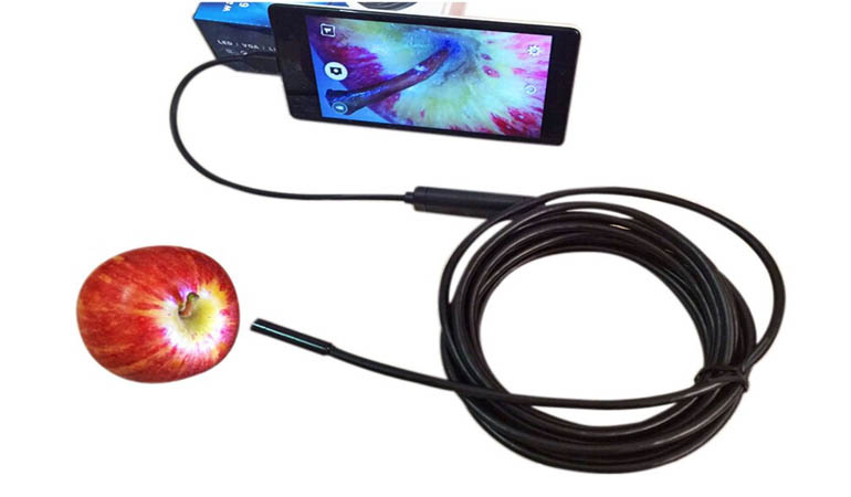 45% off Rs 2100 only for Snake LED USB Waterproof Inspection Camera - FREE DELIVERY