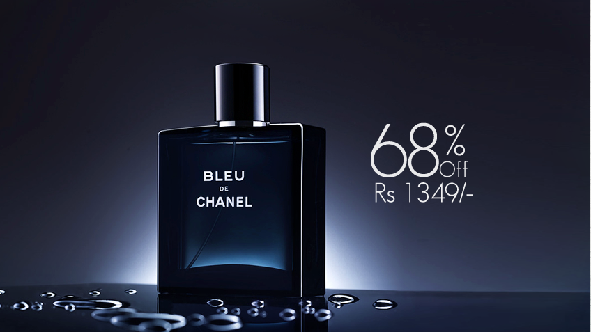 68% off, Rs 1349 only for Bleu De Chanel Perfume for Men (First Copy)