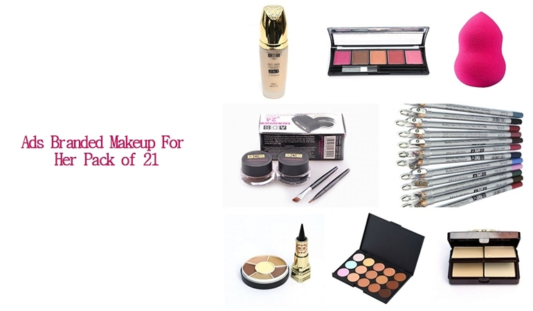 Pack of 21 Branded Makeup by ADS