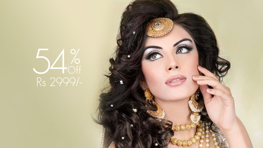 Glam Up Your Night! Get Party Make Up + Hair Style (Straighting or Blow Dry) + Whitening Polisher + Nail Color Application for just Rs 2999/- only instead of Rs 6,500/- [54% off] at LeReve Beauty Salon Gulberg lll Lahore.