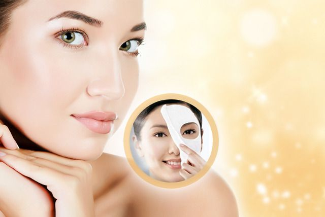 Rediscover your beauty! Glow Facial + Skin Polisher + Whitening Manicure + Whitening Pedicure with Polisher + Feet Polisher + Threading ( Eye Brows & Upper Lips) by Top Beauty Salon & Spa Gulberg III Branch, Lahore.