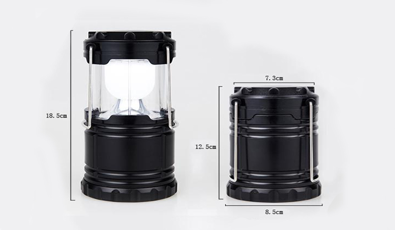 Rechargeable LED Solar Lamp Camp (Portable Night Light)