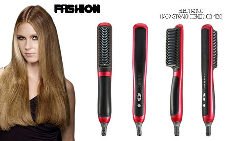 Hair Comb Straightener Brush