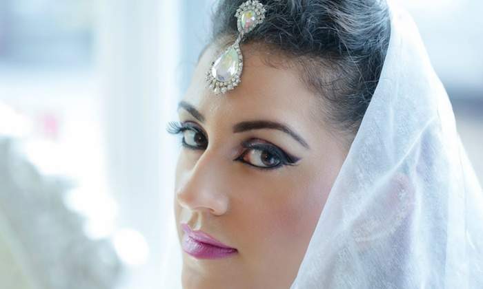 Look Stunning On Your Big Day!  Get Bridal Makeup (Barat OR Walima) + Creative Hair Styling + Whitening Facial + Spa Whitening Manicure + Spa Whitening Pedicure + Eyelashes Application + Dupatta Setting + Jewelry Setting + Nail Color Application + Threading (Eyebrows & Upper Lips) at The Beauty Room Salon Gulberg Lahore.