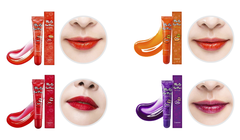48% off, Rs 1450 only for Oops My Lip Tint Pack Set for Her 15g (Berrisom 6 Colors) - FIRST IMPRESSION