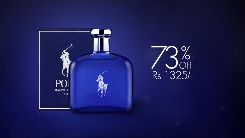 73% off, Rs 1325 only for Polo Blue Cologne By Ralph Lauren for Men (First Copy)