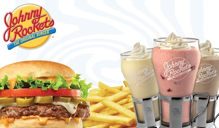 1 Original Burger + 1 Fries + 1 Original Medium Shake by Johnny Rockets