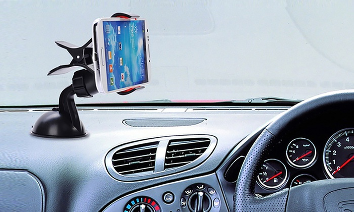 One, Two, or Three 360° Universal Phone Car Holders