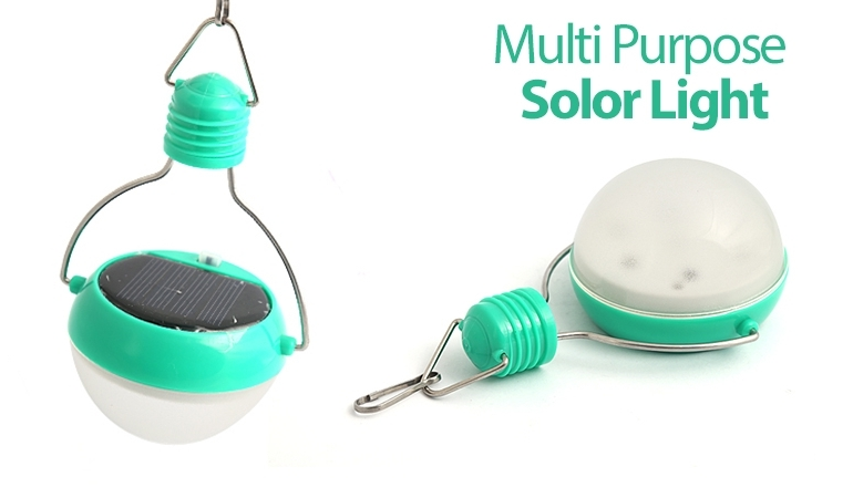 Rechargeable & Water-Proof Multi-Functional LED Solar Light