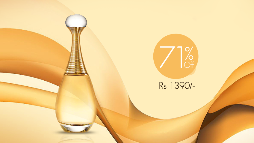 71% off, Rs 1390 only for Christian Dior's J'Adore Perfume for Women (First Copy)