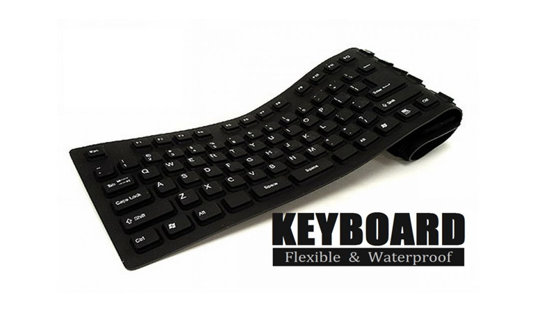 Flexible & Waterproof Keyboard