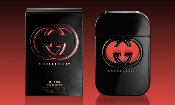 75% off, Rs 1475 only for Gucci Guilty Black Perfume for Women (First Copy)