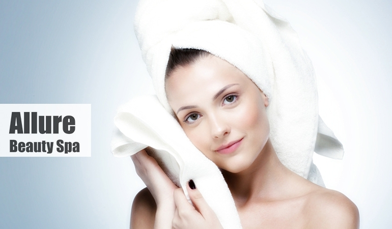 Avail Double Whitening & Shining Facial OR Herbal Facial + Face Glowing Mask + Whitening Extra Glowing Bleach + Face Polish + Extra Glowing polish for Hand n Feet + Full Arms waxing + Most relaxing Back & Shoulder Massage + Haircut + Soft and Bouncy Hair Protein Treatment (especially for rough n damaged hairs) + Hand & feet Whitening Scrub Massage (Removes dead cells - Done by Canadian Products) only at Allure Beauty Salon & Spa.
