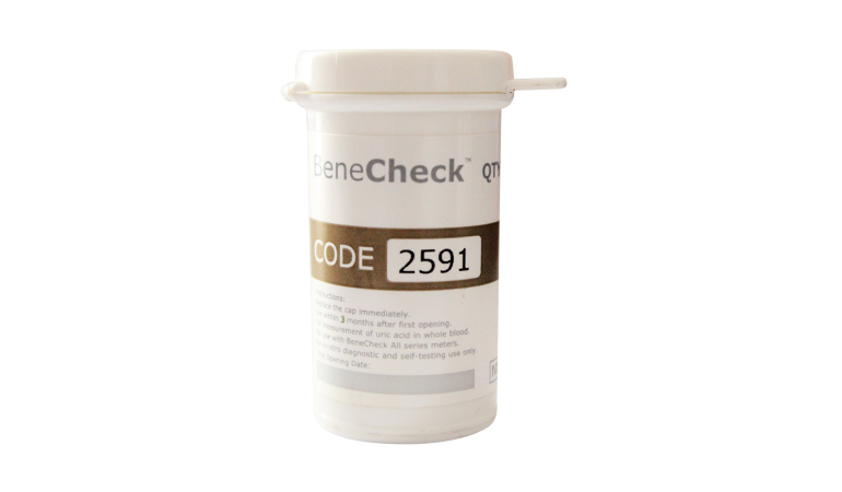 Benecheck Uric Acid 25's Test Strips