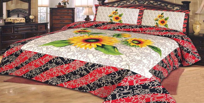 HQ Cotton King Size Bedsheet