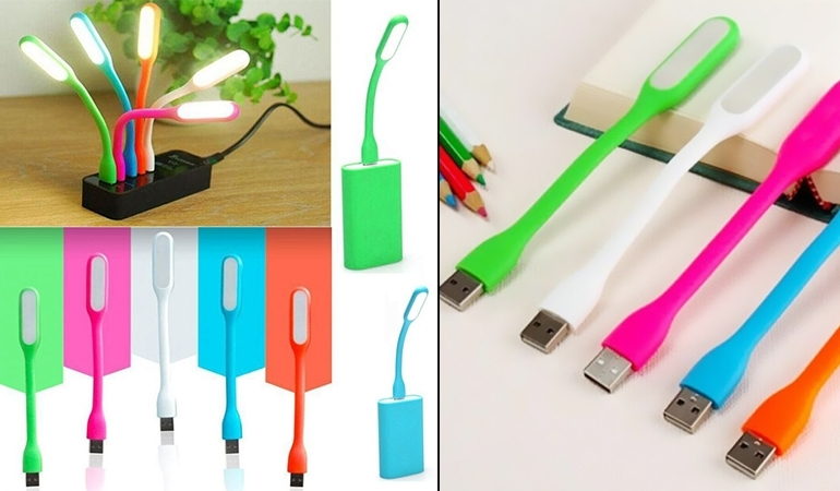 33% off, Rs 800 only for Pack of 12 Portable LED USB Light -  Free DELIVERY