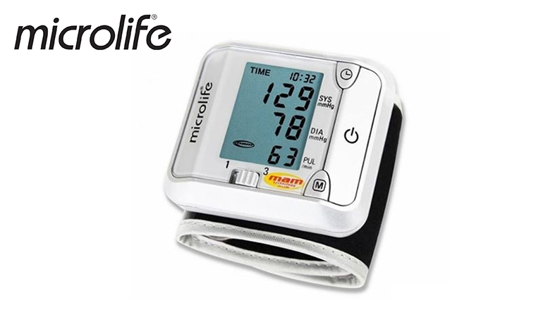 Microlife Blood Pressure Wrist Digital Meter BPM BP 3BJI-4D with 1 Year Warranty