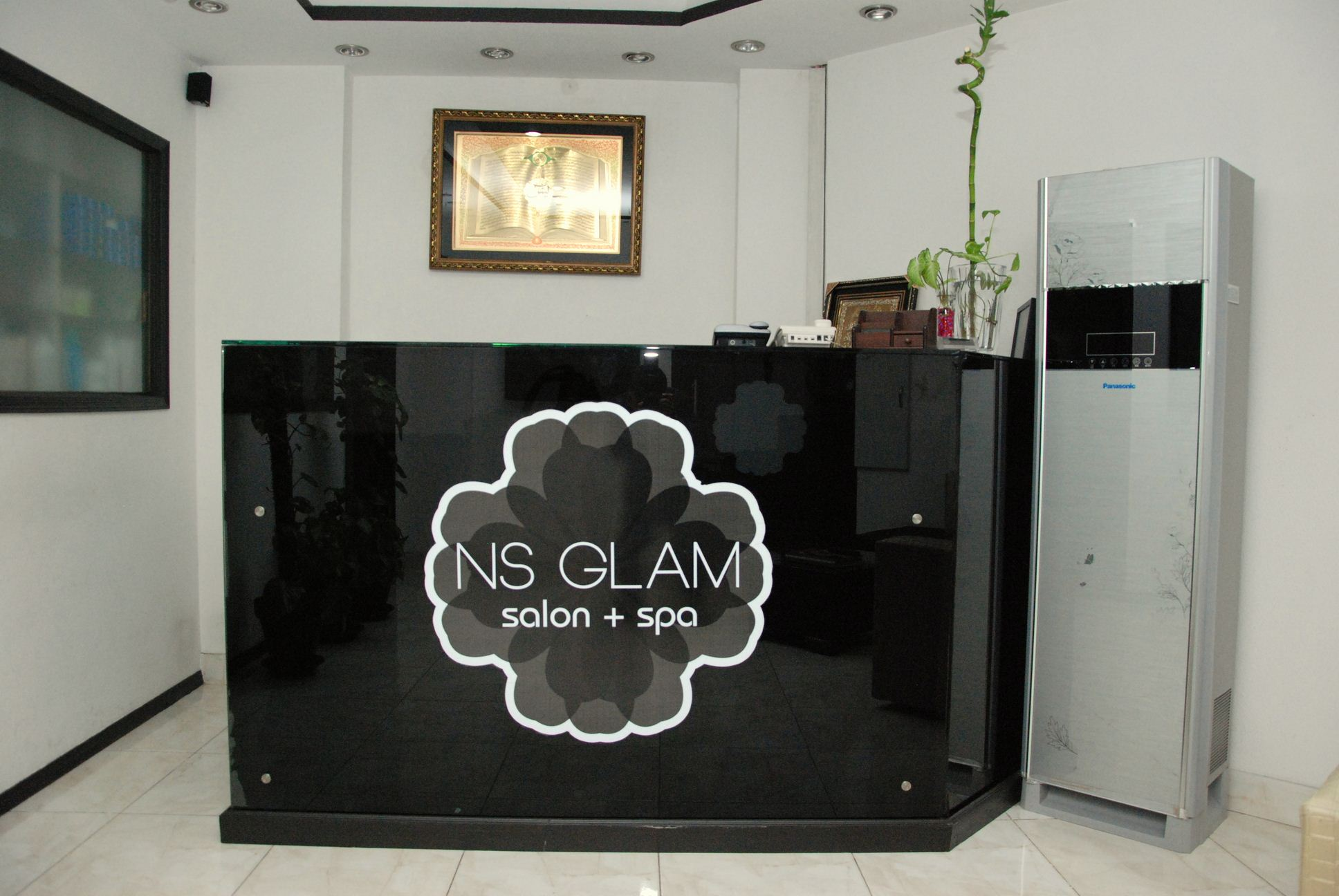 Receive a Janssen Whitening Facial + Whitening Polish & Skin Glow + Haircut OR Hair Protein Treatment + Whitening Manicure & Pedicure or Half Arms Wax + Threading From NS Glam Spa & Salon