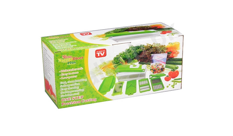 12 Pieces Original Genius Nicer Dicer Plus