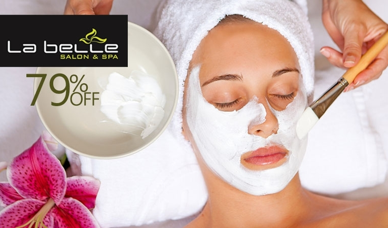 Be the beautiful Queen! Janssen Whitening Facial + Janssen Skin Polish + Whitening Manicure + Whitening Pedicure + Hand & Foot Massage + Neck & Shoulder Massage + Threading (Eye Brow & Upper Lips) for just Rs 1,399/- only instead of Rs 6,700/- [79% off] at La Belle Salon & Spa Model Town, Lahore.