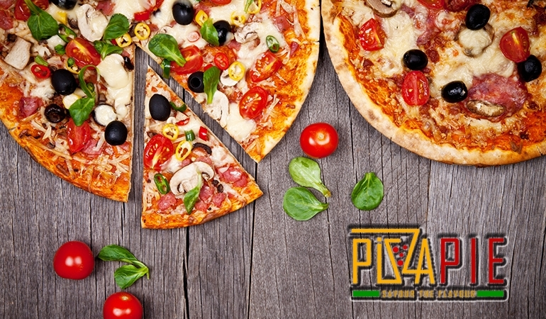 Enjoy 2 Large Pizza + 1x Potato Wedges by Pizza Pie