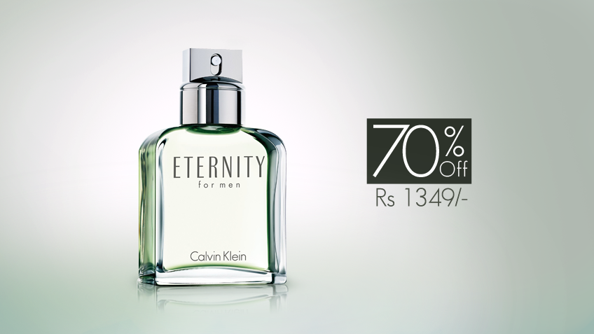 70% off, Rs 1349 only for CK Eternity Perfume for Men (First Copy).