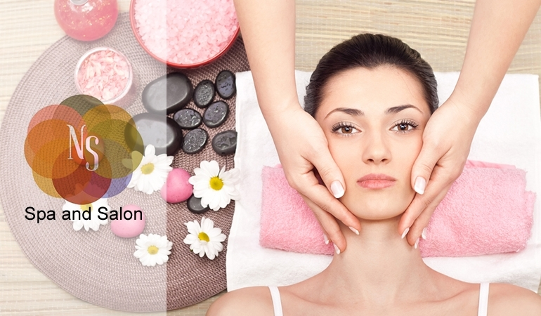Janssen Facial + Whitening Polisher + Whitening Mask + Whitening Mani & Pedi (Polisher Included) + Eyebrows & Upperlips + Hair Trim Or Hair Treatment at NS Spa and Salon, MM Alam Rd, Gulberg  III, Lahore.