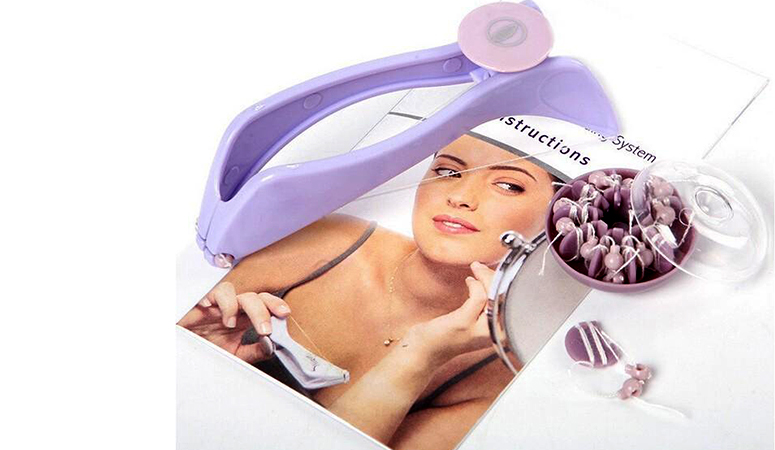 Slique Eyebrow Face and Body Hair Threading and Removal Kit