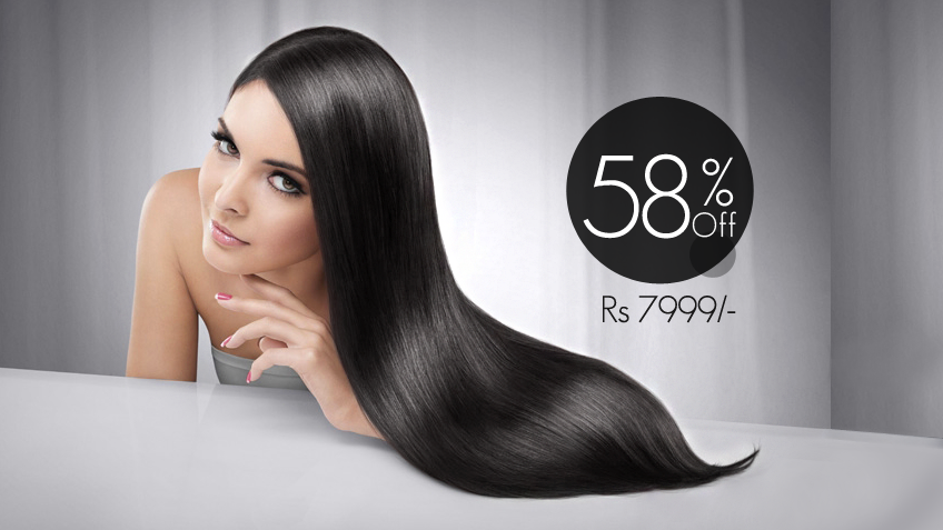 58% off, Rs 7999 only for LOreal Hair Xtenso or Hair Rebonding + Hair Cut + LOreal Hair Treatment + Blow Dry + Head & Shoulder Massage at The Beauty Room Gulberg, Lahore.