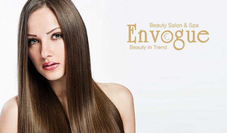 60% off Rs 7999 only for Xtenso / keratin permanent straightening / permanent blowdry shoulder length at Envogue Bridal Lounge, Beauty Salon Services and Spa by Diya Malik DHA & Gulberg Lahore