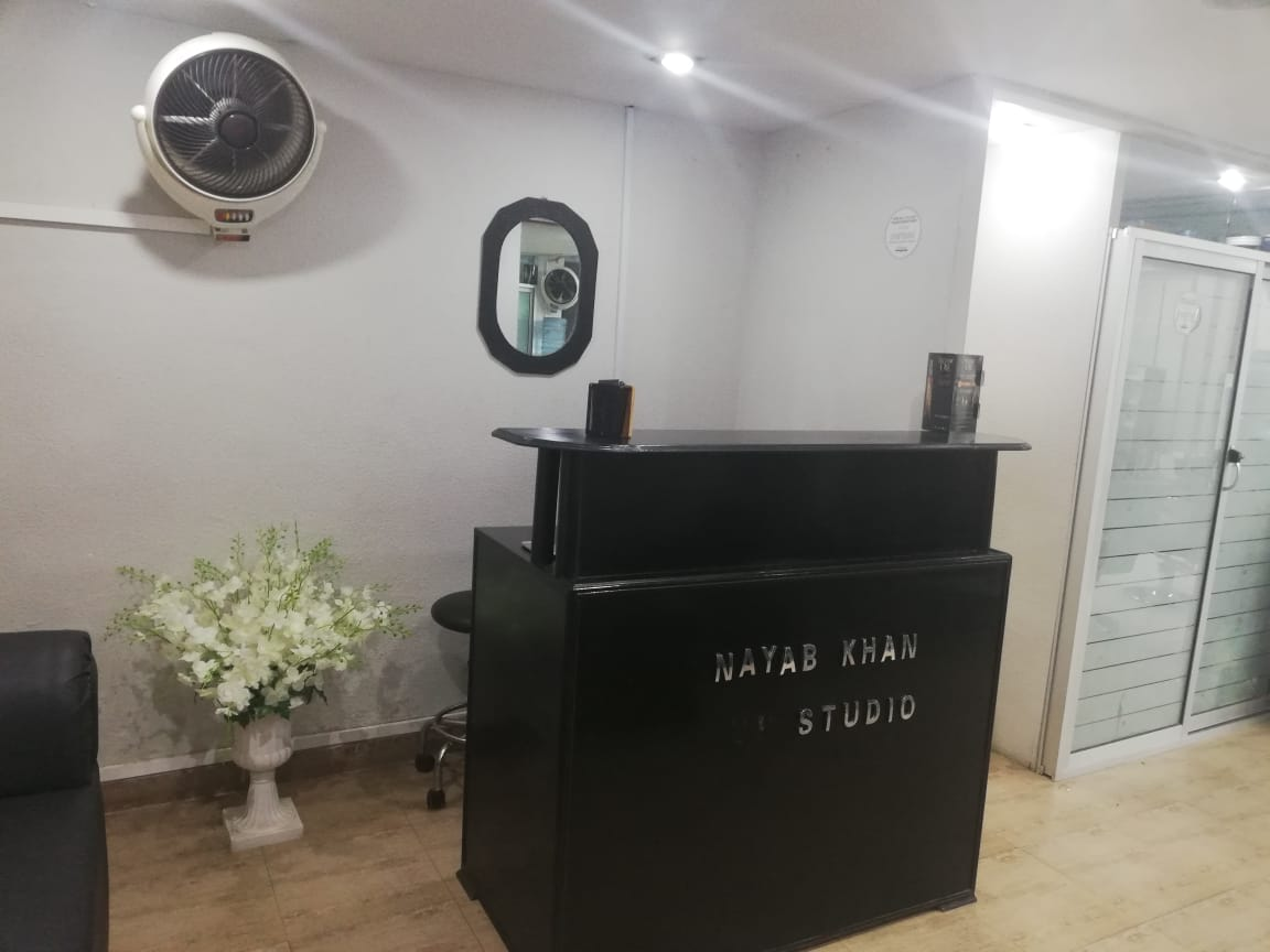 Gold-Facial + Whitening Skin Polisher + Whitening Manicure + Whitening Pedicure with Polisher + Hand and Feet massage + Neck and Shoulder Massage + Hot Oil Head Massage + Threading (Eye brow + Upper lips) at Nayab Khan Make up Studio, Salon & Spa Faisal Town Lahore.