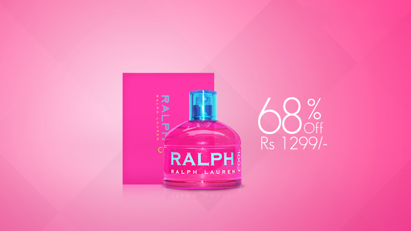 68% off, Rs 1299 only for Ralph Lauren Cool Perfume for Women (First Copy)