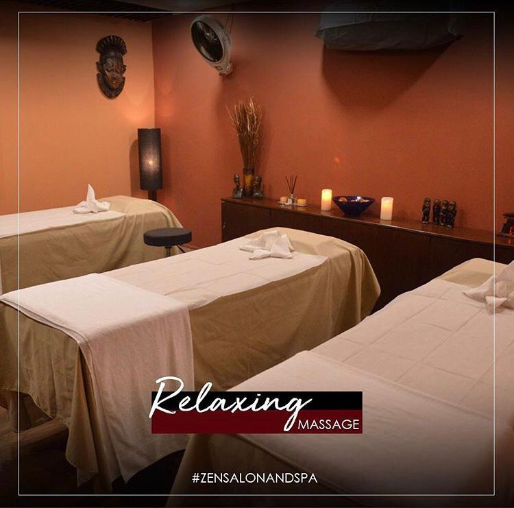 Relaxing full body massage with complementary nail shaping and shiner application by Zen-Salon & Spa DHA Phase 2, Lahore