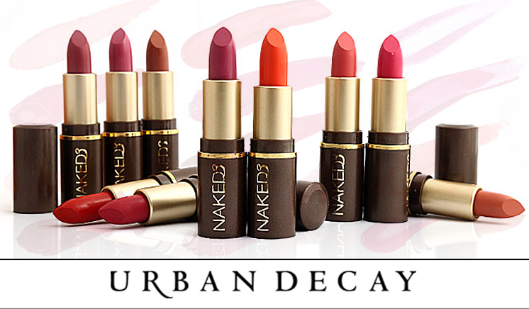 Pack of 10 Naked3 Lipsticks