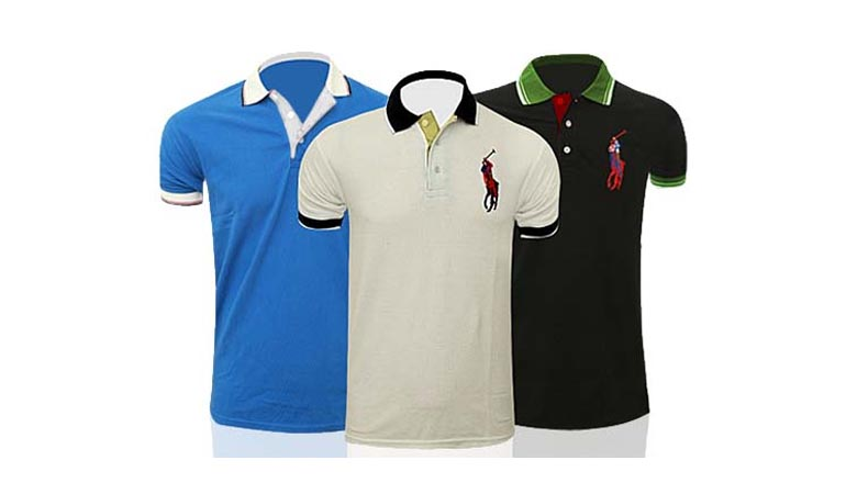 Pack Of 3 Half Sleeves US Polo T-Shirts For Men