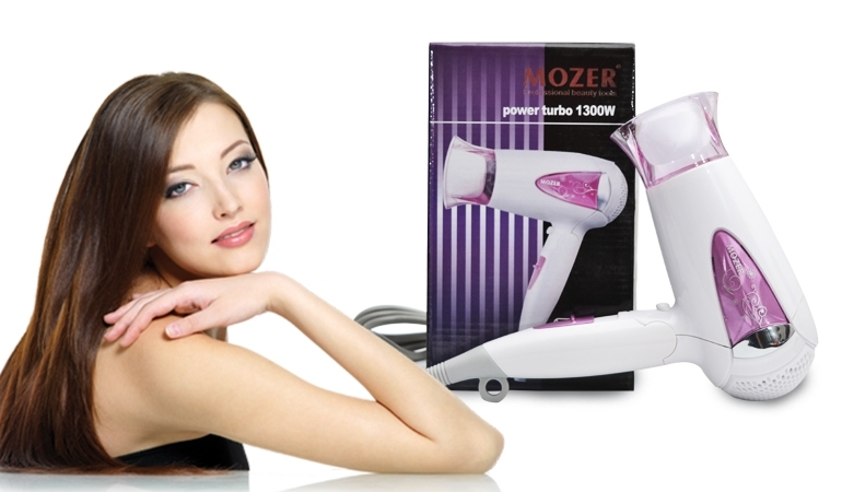 48% off Rs 1499 only for Hair Dryer Power Turbo by Mozer - FREE DELIVERY