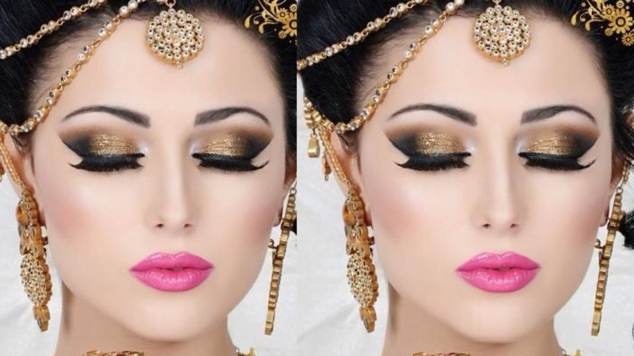 Golden Deal: Party Makeup + Hair Wash + Hair Style Straightning or Blow Dry  + Dupita Setting and Nail Color Application + Threading (eyebrows & upper lips) for just Rs 3999/- only instead of Rs 9,500/- [58% off] at Le-Reve Beauty Salon Gulberg Lahore.