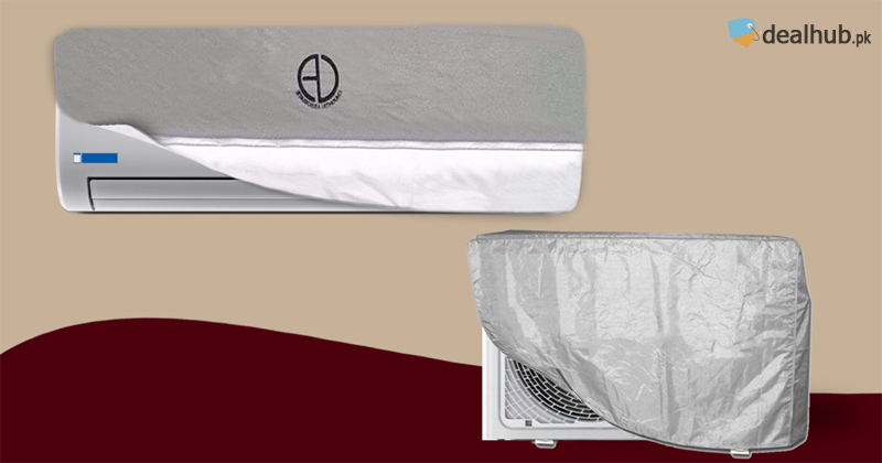 Pack of 2 Split AC Covers & 2 Outer Unit Covers  (Select your Suitable Design)