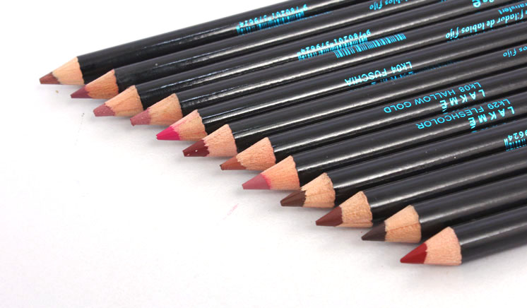 Pack of 12 Lakme Lip Pencils