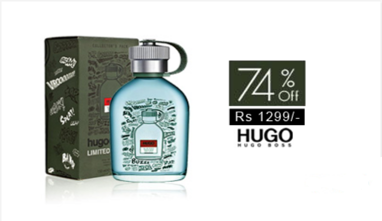 74% off, Rs 1299 only for Hugo Boss Hugo Create Limited Edition Perfume for Men (First Copy)