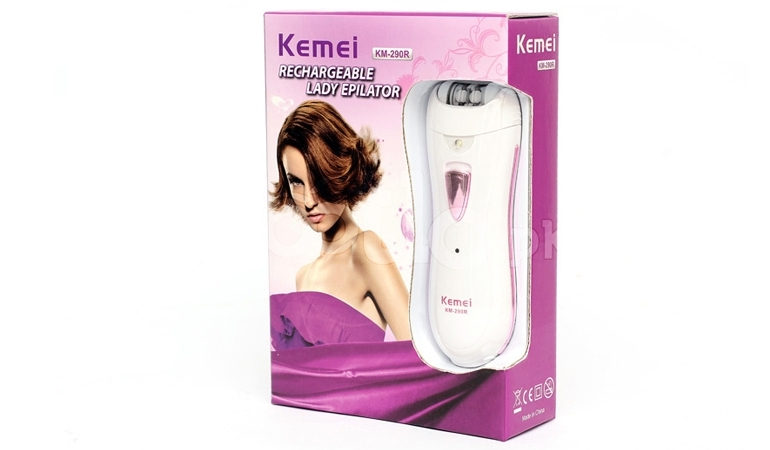 Kemei Rechargeable Lady Epilator for Her