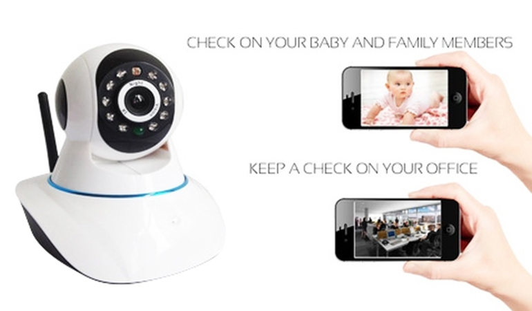 HD Rotatable Wifi IP Camera
